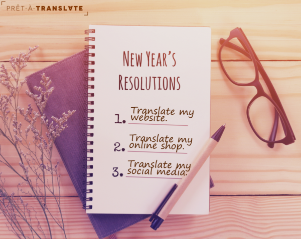 New Years resolutions, translation