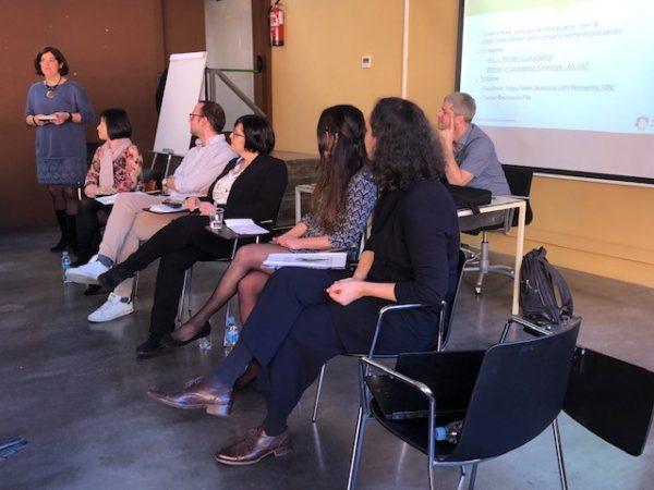 mesa redonda sobre localización en startups, con Women in Localization