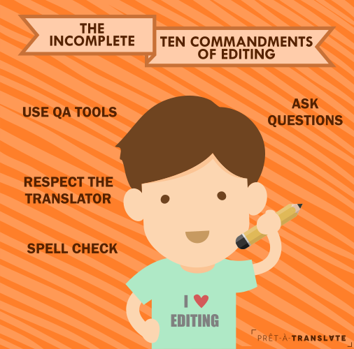 The incomplete ten commandments of editing