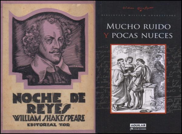 portadas de libros de Shakespeare