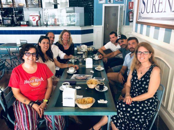 Asistentes a LocLunch Málaga