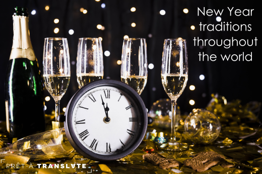 New Year traditions throughout the world