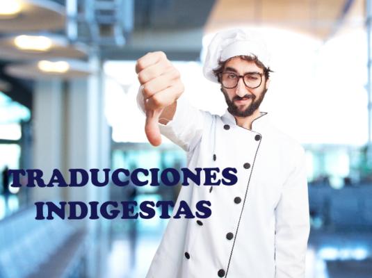 traducción para restaurantes